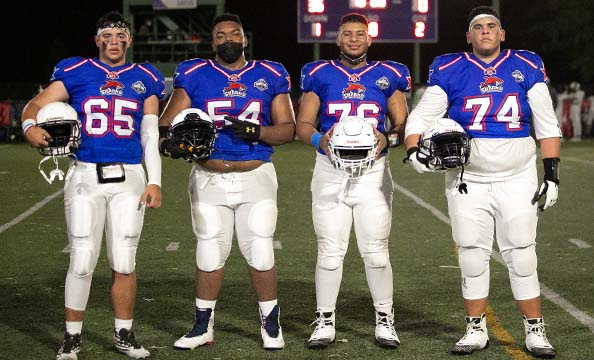 Top KFL linemen of Panama Sharks ready for next level