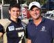 Proud football dad praises MVP son